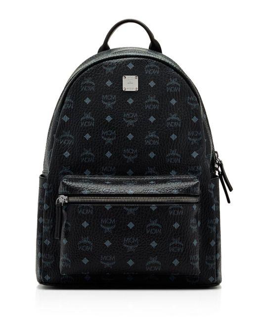 MCM - Brown Visetos Medium Stark Backpack for Men - Lyst