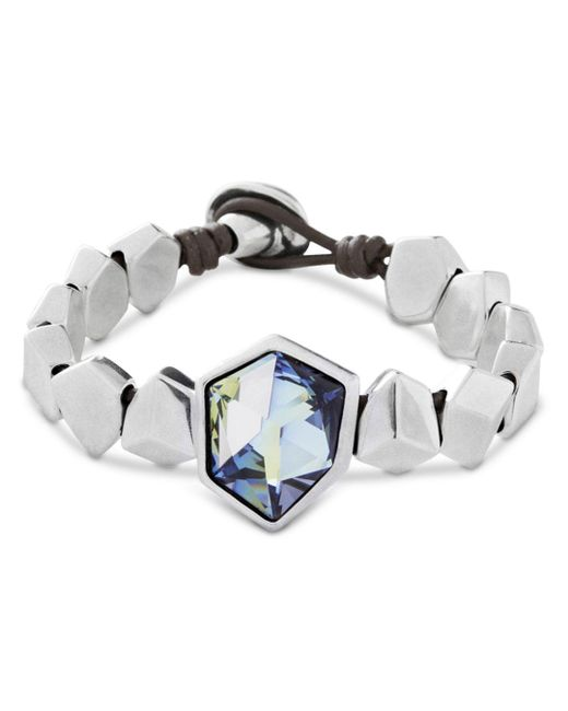 Uno De 50 - Metallic Iceberg Bracelet - Lyst