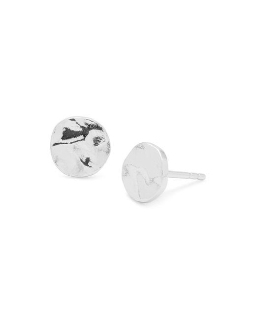 Gorjana | White Chloe Stud Earrings | Lyst