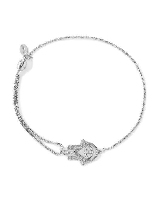 ALEX AND ANI - Metallic Precious Metals Symbolic Hand Of Fatima Pull Chain Bracelet - Lyst