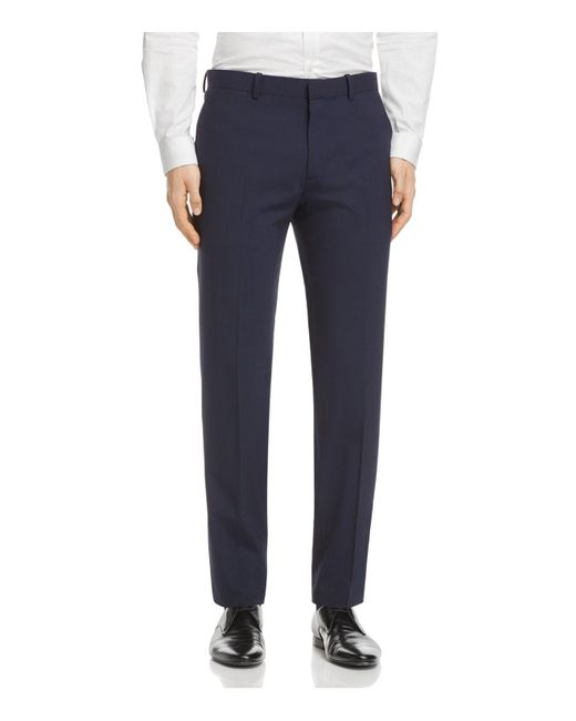 Theory | Blue Marlo Slim Fit Suit Separate Trousers for Men | Lyst