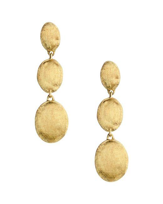 Marco Bicego | Metallic 18k Yellow Gold Siviglia Drop Earrings | Lyst