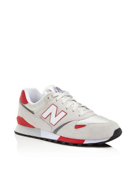 New Balance | White 446 Sneakers for Men | Lyst