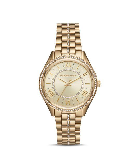 MICHAEL Michael Kors | Metallic Micheal Kors Mini Darci Watch, 33mm | Lyst