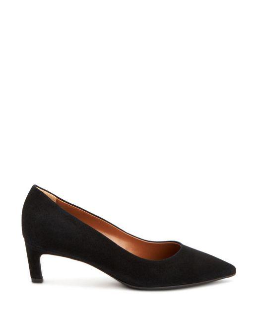 9f1e9611d157 ... Aquatalia - Black Women s Marianna Weatherproof Patent Leather Kitten  Heel Pumps - Lyst