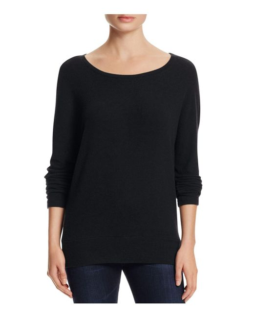 Cupcakes And Cashmere | Black Chey Dolman Sleeve Sweatshirt | Lyst