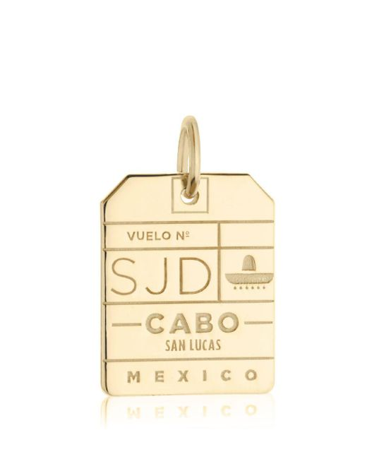 Jet Set Candy - Metallic Sjd Los Cabos Luggage Tag Charm for Men - Lyst