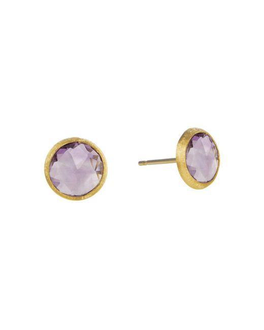 Marco Bicego - Purple Jaipur Amethyst Stud Earrings - Lyst