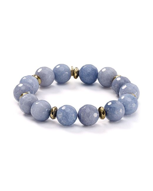 Bourbon and Boweties - Blue Stretch Bracelet - Lyst