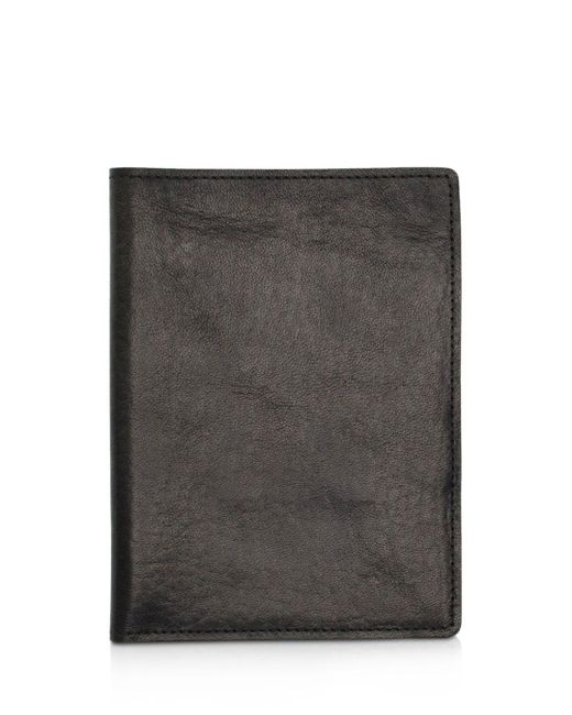 Shinola - Black Leather Passport Wallet - Lyst