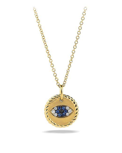 David Yurman | Metallic Black Diamonds & White Diamonds In Gold | Lyst