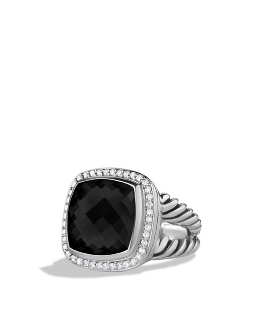 David Yurman | Albion Ring With Black Onyx & Diamonds | Lyst