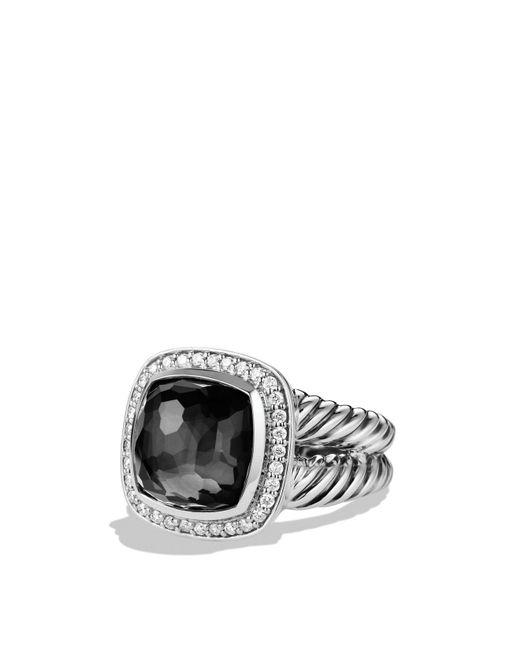 David Yurman | Metallic Albion Ring With Black Orchid And Diamonds | Lyst