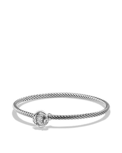 David Yurman - Metallic Infinity Bracelet With Diamonds - Lyst