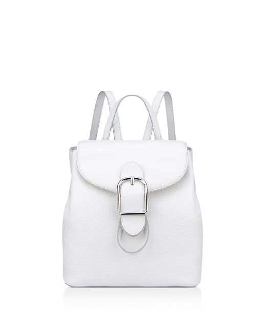 Anne Klein - White Catherine Leather Backpack - Lyst