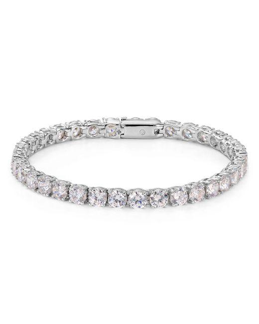 Nadri - Metallic Classic Tennis Bracelet - Lyst