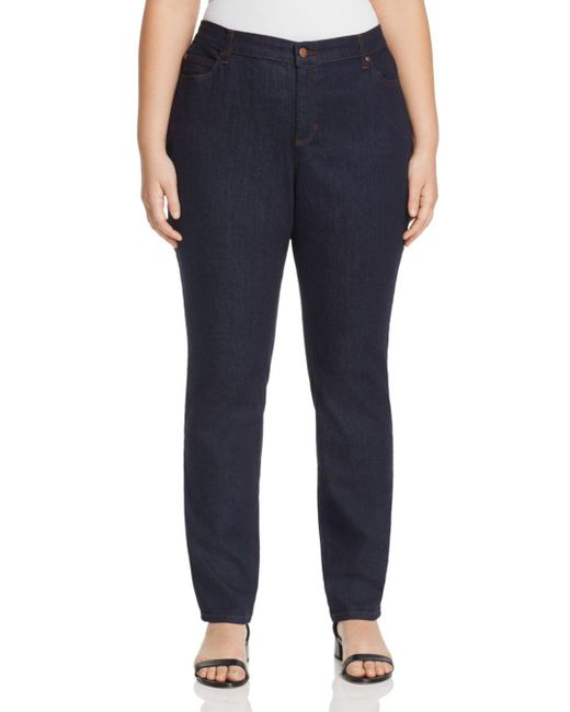 Eileen Fisher - Blue System Skinny Jeans In Indigo - Lyst