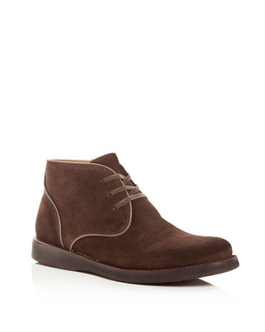John Varvatos - Brown John Varvatos Men's Star Usa Brooklyn Suede Chukka Boots for Men - Lyst