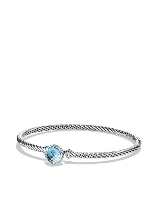 David Yurman - Châtelaine Bracelet With Blue Topaz - Lyst