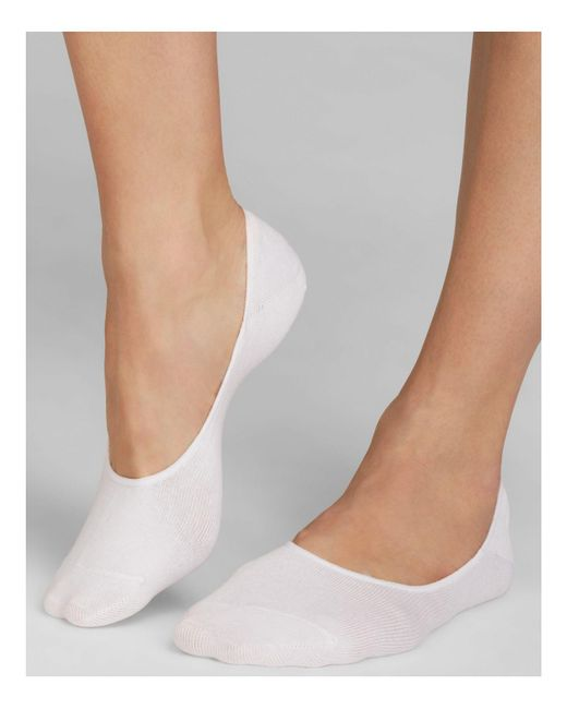 Hue | White Sock Liners | Lyst