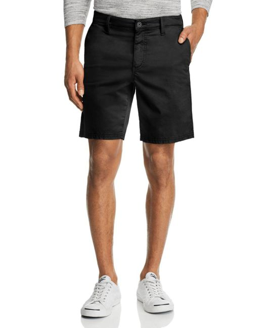 John Varvatos - Black Regular Fit Chino Shorts for Men - Lyst