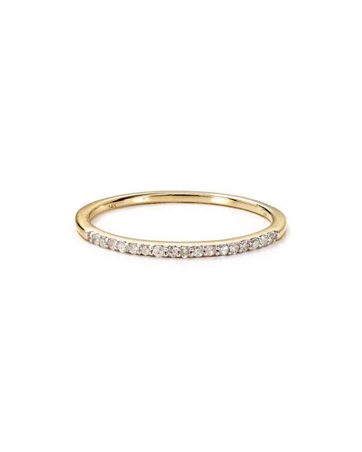 Adina Reyter - Metallic Pavé Diamond Ring - Lyst