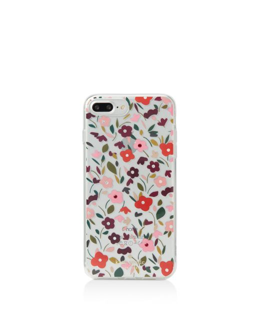 Kate Spade | Multicolor Jeweled Boho Floral Iphone 7 Plus Case | Lyst