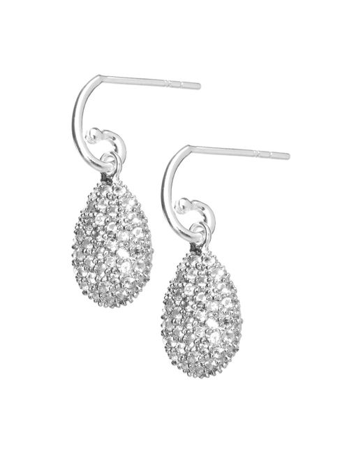 Links of London - Metallic Hope White Topaz Earrings - Lyst
