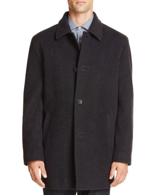 Cole Haan - Multicolor Wool Cashmere Topper Coat for Men - Lyst