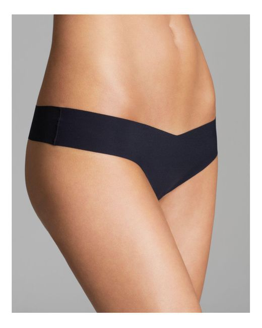 Commando | Black Solid Thong | Lyst