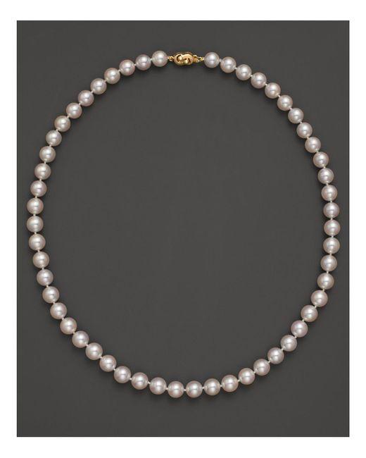 "Tara Pearls - Natural 18"" - Lyst"