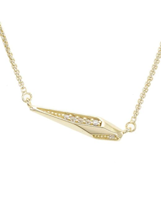 Kendra Scott - Metallic Tabitha Pendant Necklace - Lyst