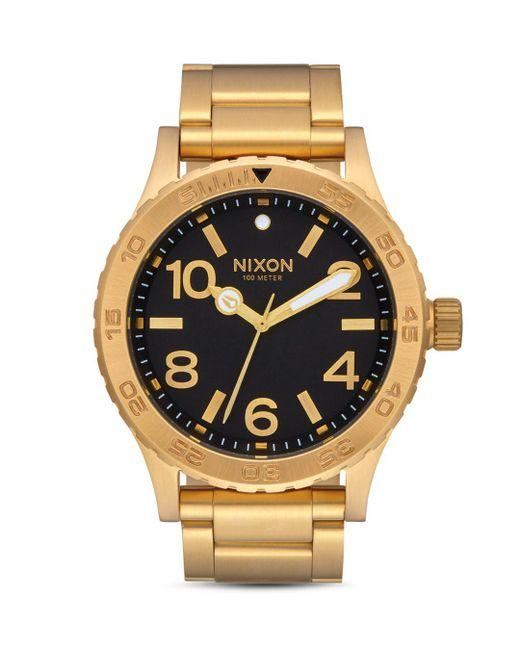 Nixon - Metallic 46mm for Men - Lyst