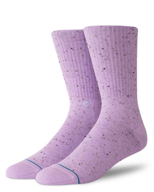 Stance - Purple Icon 2 Speckled Socks for Men - Lyst