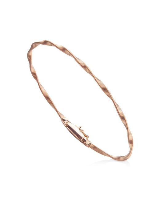 Marco Bicego - Multicolor Marrakech Bracelet In 18k Rose Gold - Lyst
