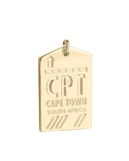 Jet Set Candy - Metallic Cpt Cape Town South Africa Luggage Tag Charm - Lyst