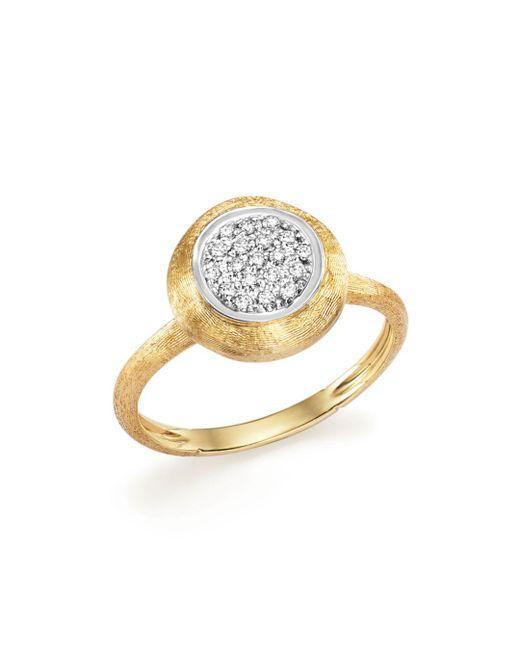 Marco Bicego - Metallic 18k White And Yellow Gold Jaipur Ring With Diamonds - Lyst