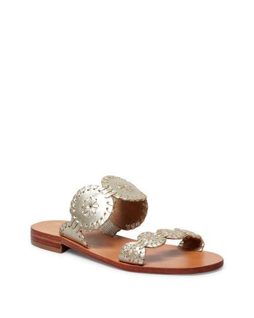 Jack Rogers | Multicolor Lauren Slide Sandals | Lyst