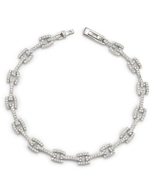 Bloomingdale's - Diamond Link Bracelet In 14k White Gold, 1.50 Ct. T.w. - Lyst