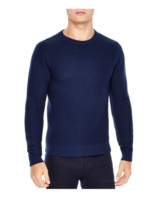Sandro | Blue Electric Sweater for Men | Lyst