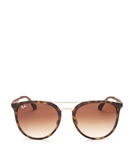 Ray-Ban   Brown 55mm   Lyst