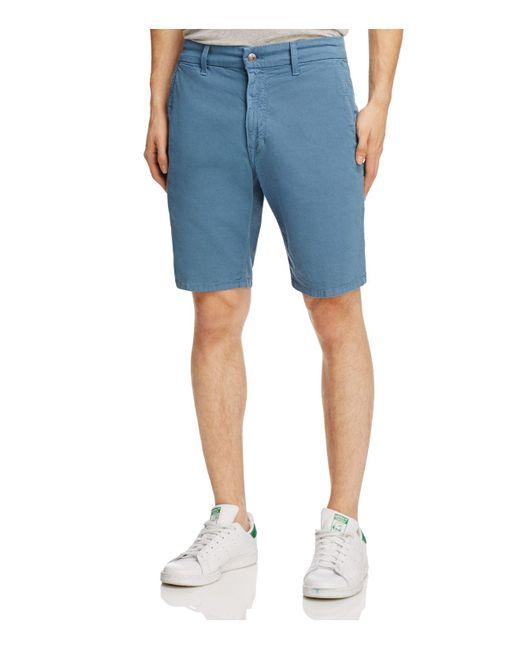 Joe's Jeans | Blue Brixton Stretch Cotton Straight Fit Shorts for Men | Lyst