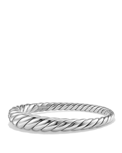 David Yurman - Metallic Pure Form Cable Bracelet In Sterling Silver - Lyst