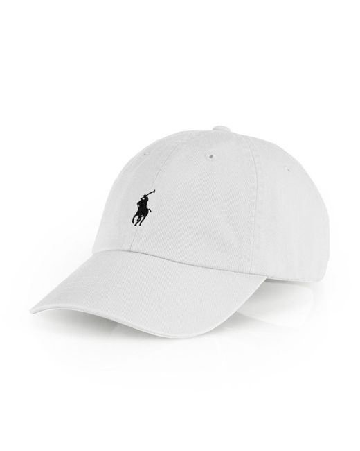 Polo Ralph Lauren - White Signature Pony Hat for Men - Lyst