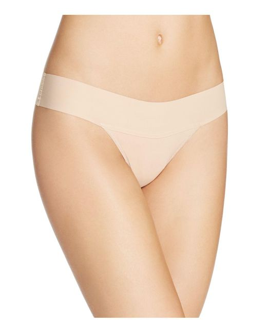 Hanky Panky | Brown Bare Eve Natural Rise Thong | Lyst
