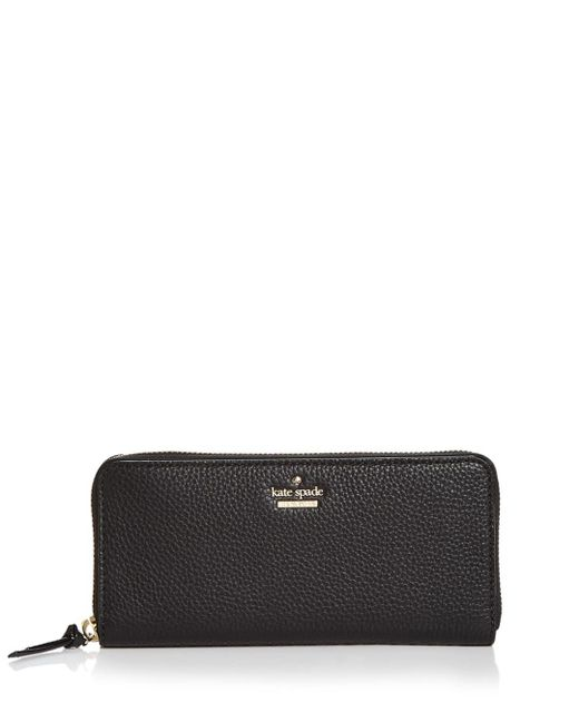 Kate Spade - Black Jackson Street Lindsey Leather Wallet - Lyst