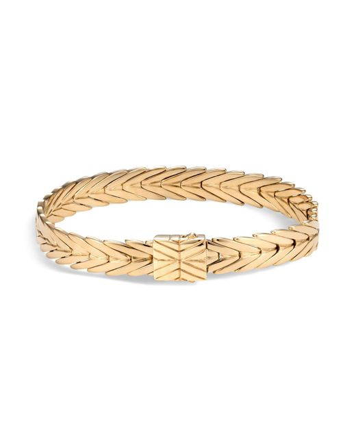 John Hardy - Metallic 18k Yellow Gold Modern Chain Bracelet - Lyst