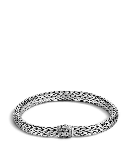 John Hardy - Metallic Men's Sterling Silver Medium Chain Bracelet for Men - Lyst