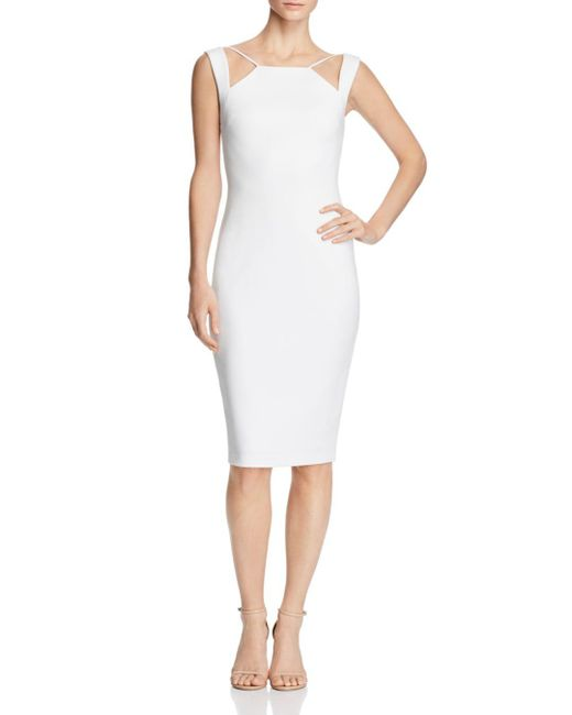 Bailey 44 - White Lal Mirch Cutout Dress - Lyst