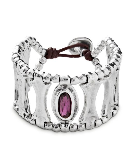 Uno De 50 - Metallic Guardian Bracelet - Lyst